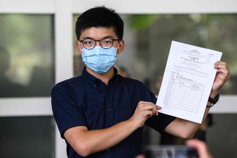 Pekingi julgeolekuseaduse taustal möödunud kuu on vähendanud Hongkongi protestijate innukust