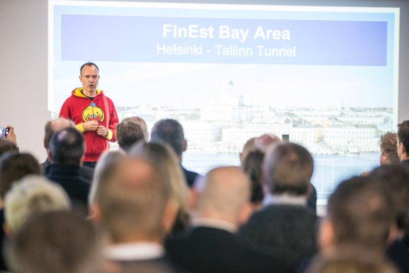 RONGIGA NIIPEA SOOME EI SAA! Eesti riik tõmbab Vesterbacka Tallinna-Helsingi tunneli plaanile vee peale