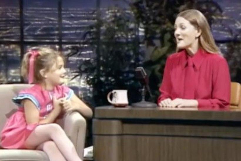 NUNNULAKS: Drew Barrymore peab dialoogi oma seitsmeaastase minaga