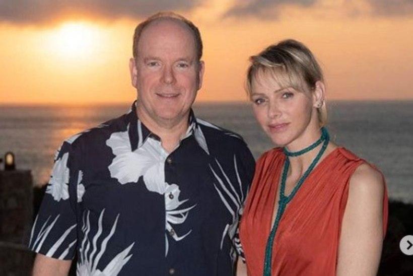 Monaco vürstipaar tähistas üheksandat pulma-aastapäeva