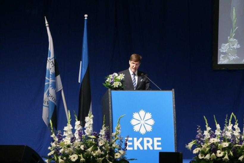 GALERII | Martin Helme EKRE kongressil: tean täpselt, mida tuleb teha, et tuua Eesti välja keskmise sissetuleku lõksust või palgavaesusest
