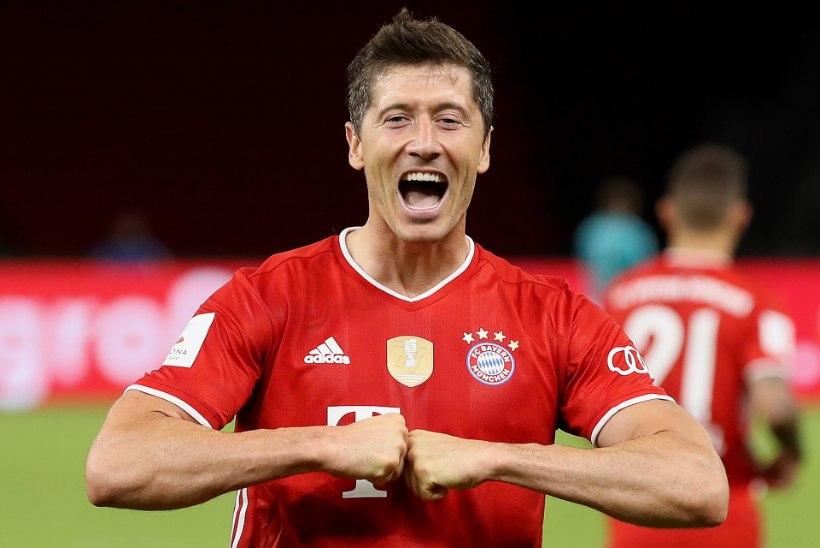 Lewandowski jõudis võimsa tähiseni ning aitas Bayerni juba aasta teise tiitlini
