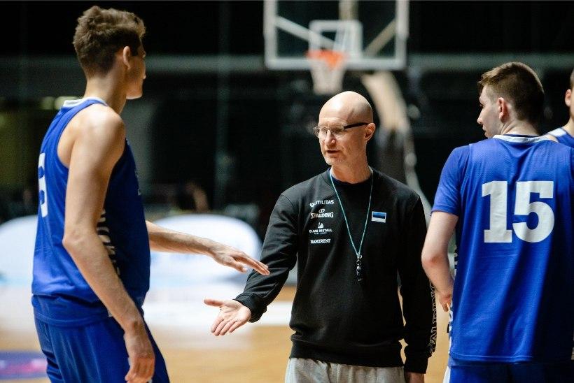 Vaata, kellega alustas korvpallikoondise peatreener Jukka Toijala ettevalmistust Balti keti karikaturniiriks