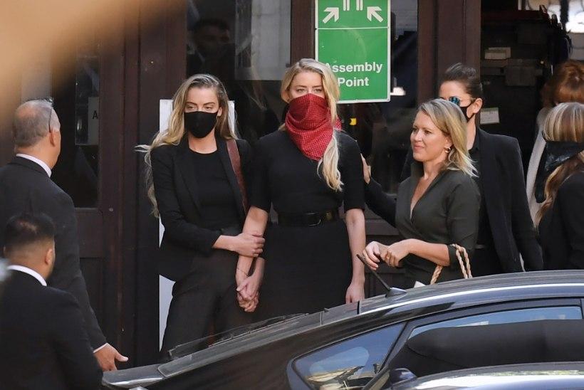 FOTOD | Johnny Depp ja Amber Heard jälle kohtus – sedapuhku sõdib Depp kõmulehega