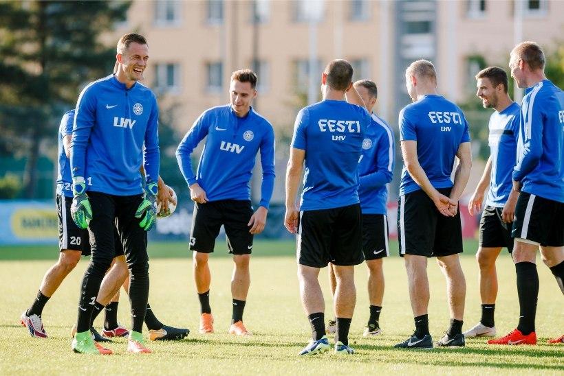 Eesti jalgpallikoondis kohtub maavõistlusmängus Itaaliaga