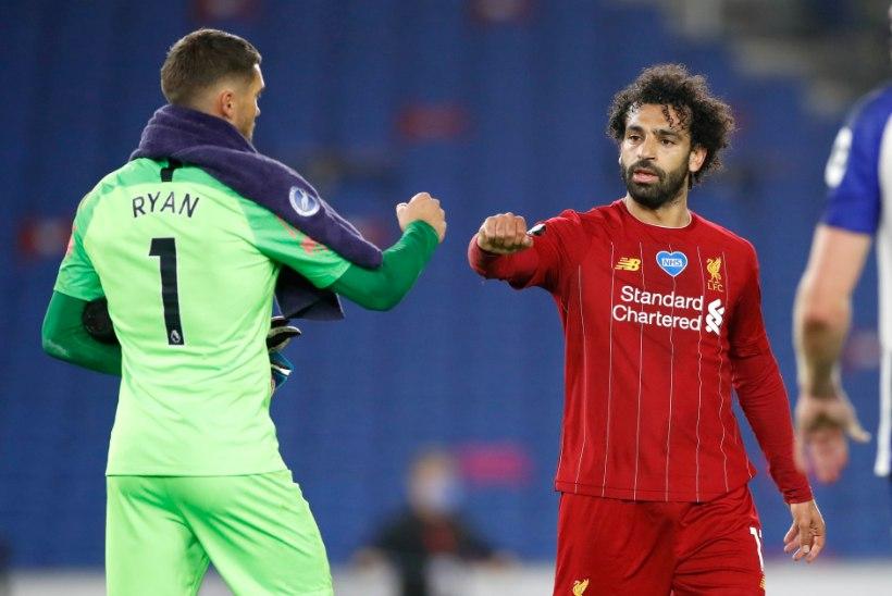 Järjekordse võidu noppinud Liverpool läheneb jõudsalt Manchester City'le kuuluvale rekordile