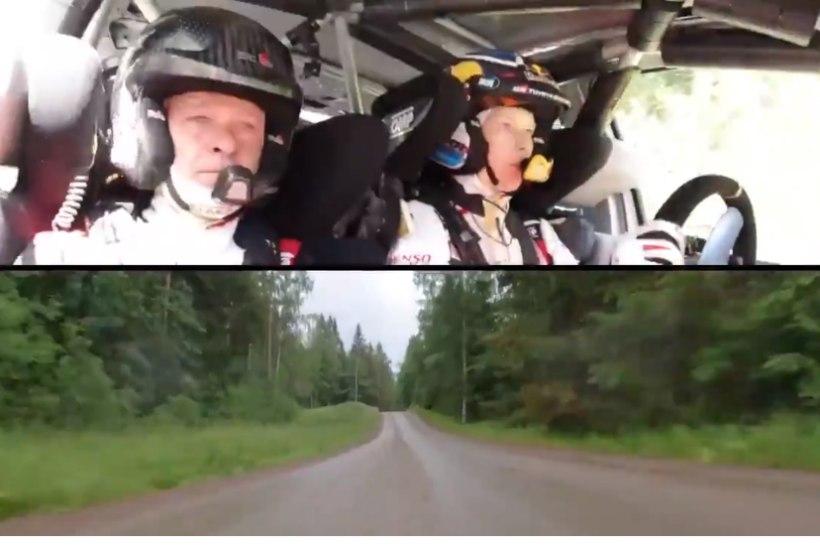 """VIDEO   Kalle Rovanperä tegi isale sõitu. """"See oli kohutav. Ma olin nii hirmul."""""""