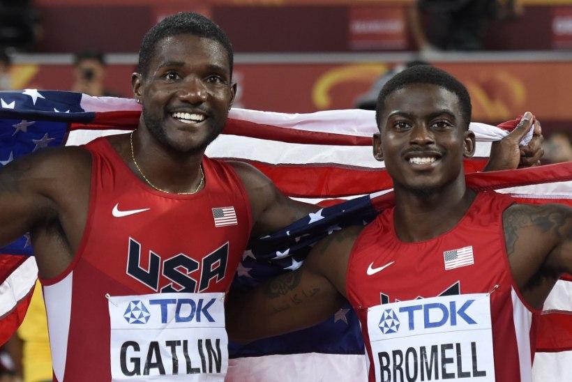 USA sprinterid näitasid teravat minekut