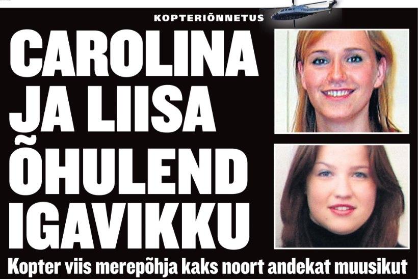 14 HUKKUNUT: täna möödub 15 aastat traagilisest Copterline'i õnnetusest