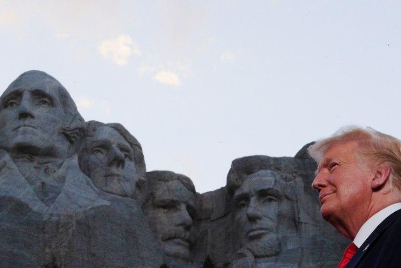 Donald Trump tahab, et tema nägu lisataks maailmakuulsale vaatamisväärsusele