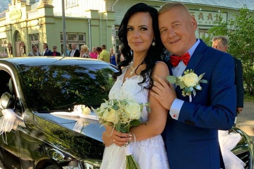 Hõissa, pulmad! Trubaduur Sulo Tintse abiellus kolmandat korda: ma ei ole kunagi osanud ilma sõrmuseta elada