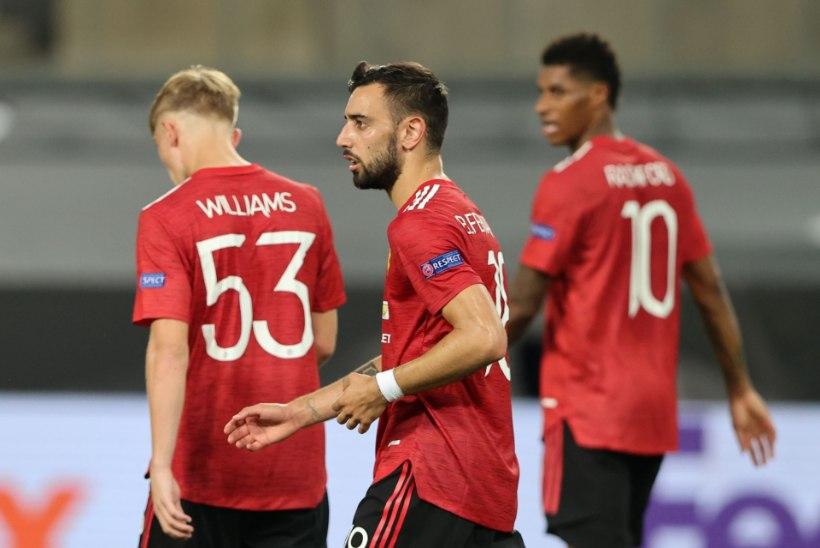 Manchester United vajas poolfinaali pääsemiseks lisaaega, Interi võidule vedanud Lukaku püstitas võimsa rekordi