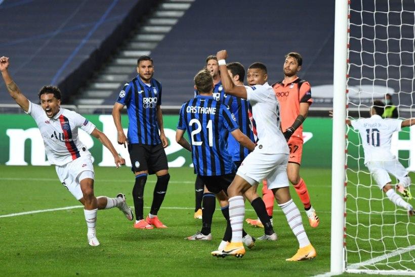 Meistrite liiga: kaotusseisu jäänud PSG päästis hiliste väravate abil poolfinaalkoha