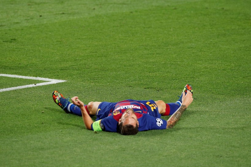 Barcelona mängija andis positiivse koroonaproovi, Messi jättis treeningu vahele – kas argentiinlane on tõbine?