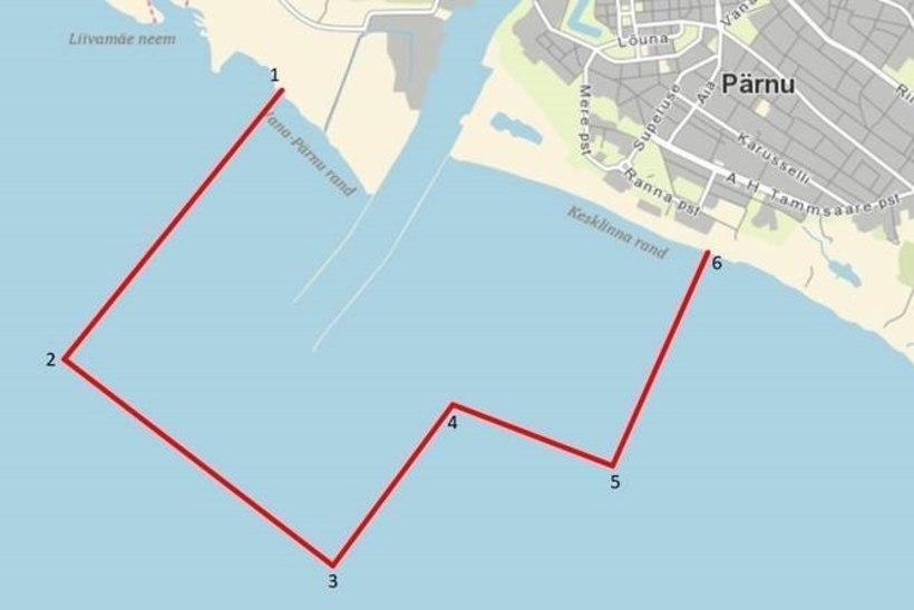 Vaata, kus kehtivad Pärnu lahel kohapüügi piirangud