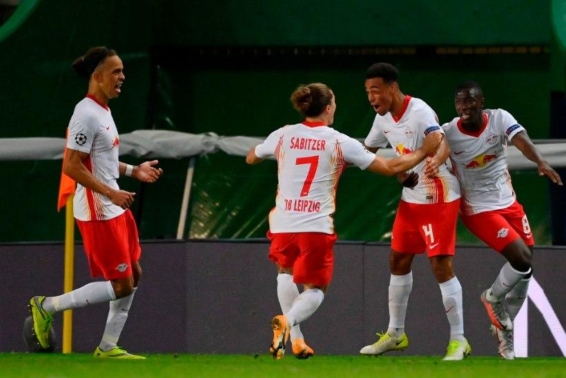 Meistrite liiga: Leipzig alistas hilise värava toel Atletico ja edenes poolfinaali