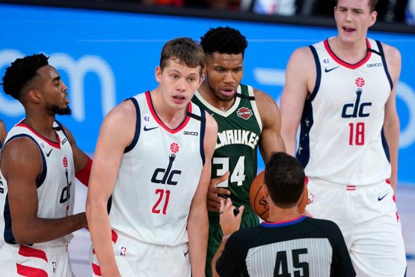 VIDEO   Vastast peaga löönud NBA täht Antetokounmpo sai mängukeelu