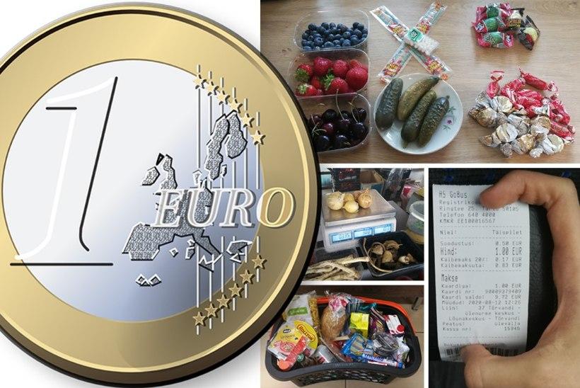 MIS SU RAHA KA MAKSAB: mida saab poest osta üheainsa euro eest?