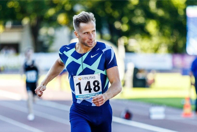 Rasmus Mägi jooksis end Teemantliiga etapil esikolmikusse