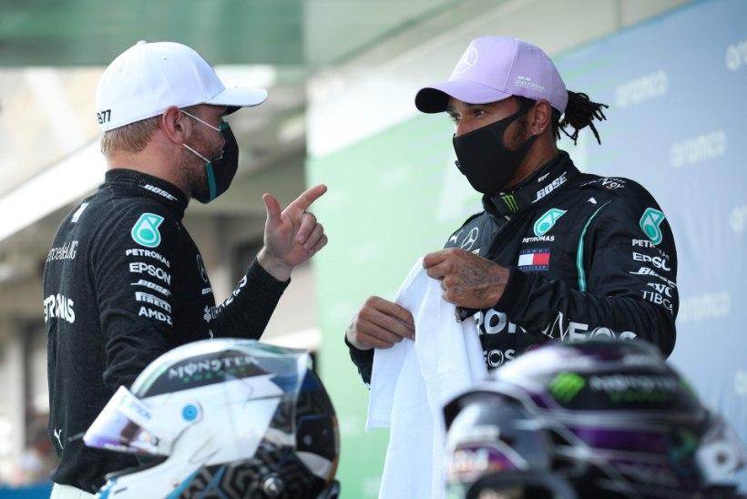 Hispaania GP kvalifikatsiooni valitsesid taas Mercedesed, Ferraridel esikaheksasse asja polnud