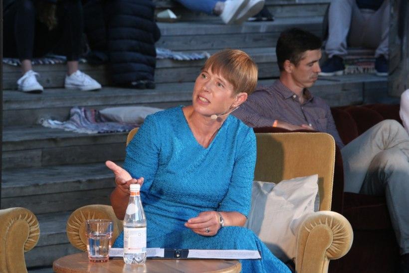GALERII | President Kersti Kaljulaid külastas arvamusfestivali