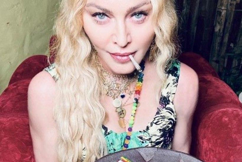 Madonna tähistas 62. sünnipäeva vaagnatäie marihuaanaga
