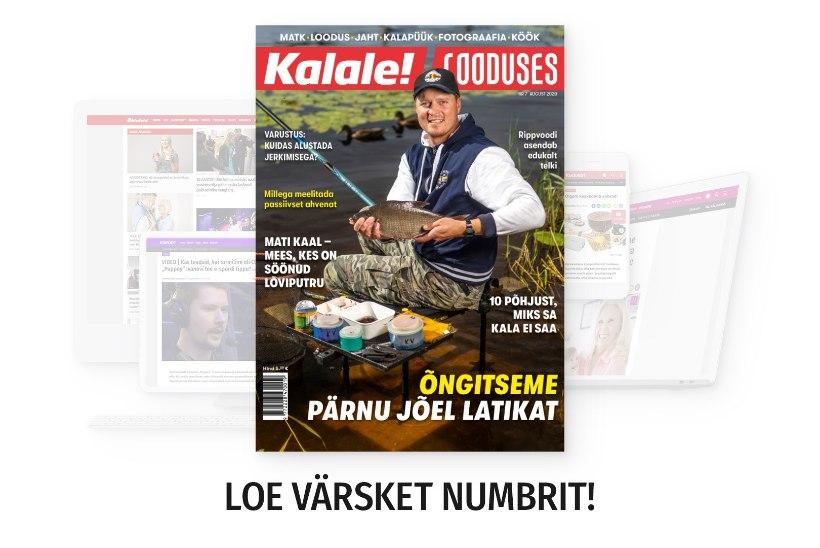 Loe värskest ajakirjast, kuidas Pärnu jõel latikat õngitseda!