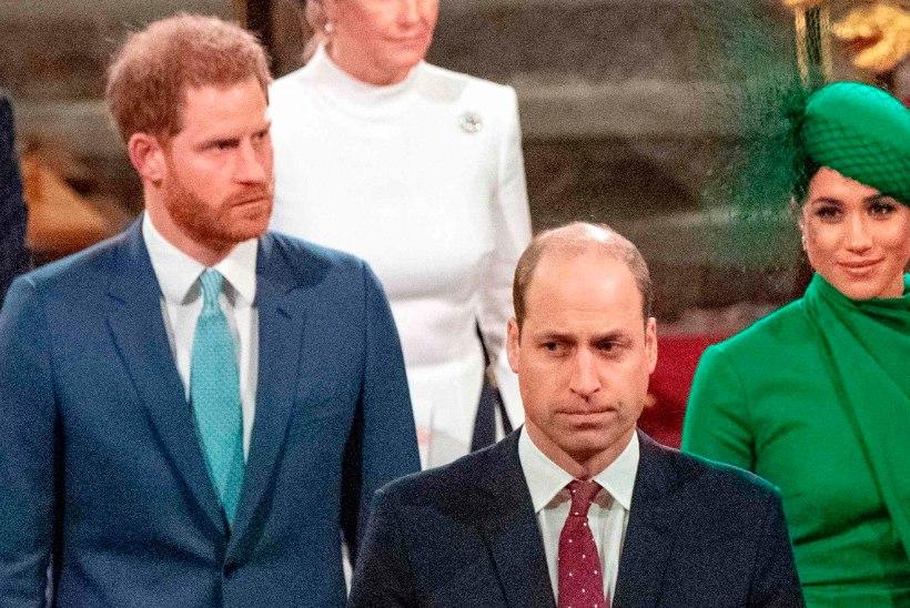 VENNAD TÜLIS: prints William ei rääkinud Harryga mitu kuud