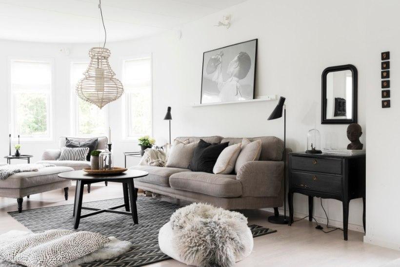 FOTOLUGU   Skandinaaviapäraselt minimalistlik kodu sõjaeelses raadiojaamas