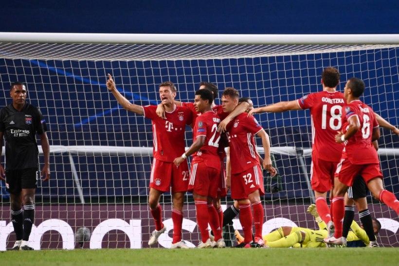 MEISTRITE LIIGA   Tasemevahe! Bayern alistas Lyoni ja marssis kindlalt finaali