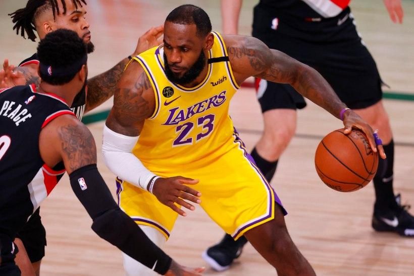 VIDEO | Üllatus: NBA põhihooaja parimad Bucks ja Lakers said play-off'ide avamängudes kaotused