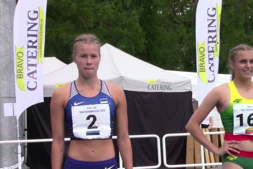 HEA TÖÖ! 16aastane tõkkesprinter püstitas Eesti rekordi
