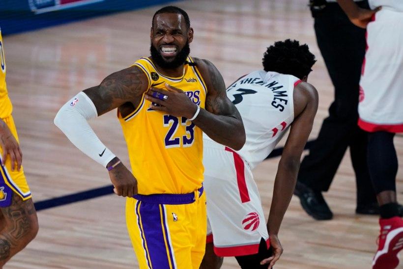 VIDEO | Lakers jäi tiitlikaitsjale kindlalt alla, linnarivaal võttis suureskoorilise võidu