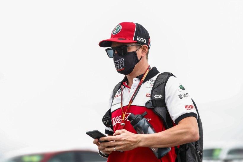 VIDEO | Viimasena üle finišijoone veerenud Räikkonen sõimas GP ajal meeskonda