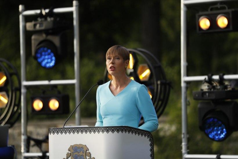 President Kaljulaidi kõne roosiaias: 2020 ei tohi olla aasta, mil jäime ilma oma vabadustest