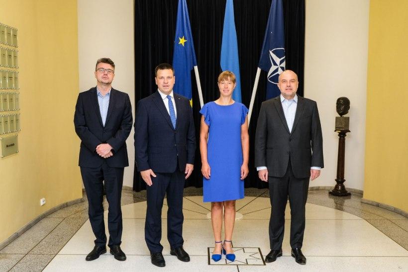 FOTO | Mis toimub Valgevenes? President Kaljulaid sai asja arutamiseks ministritega kokku