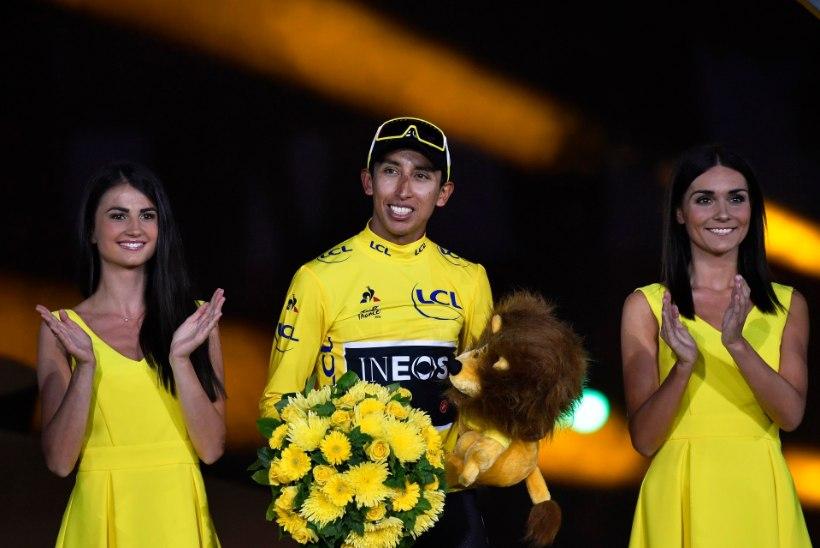 Tour de France loobub musi andvatest poodiumitüdrukutest