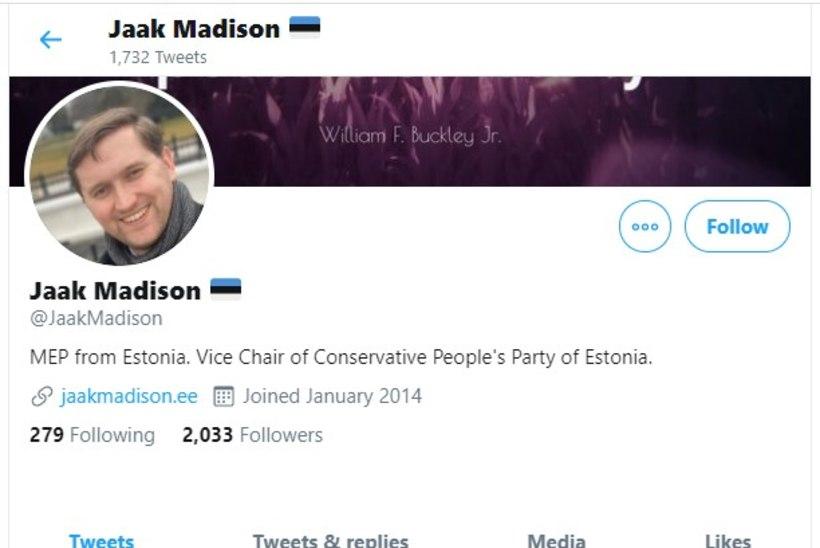 KAS NALJAGA VÕI TAHTLIKULT? Jaak Madison jagab sotsiaalmeedias libauudist Mikk Pärnitsa ja Raivo Aegi kohta