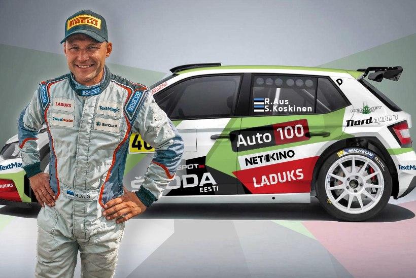 Mullusel Rally Estonial publikut hullutanud Rainer Aus teeb MM-debüüdi