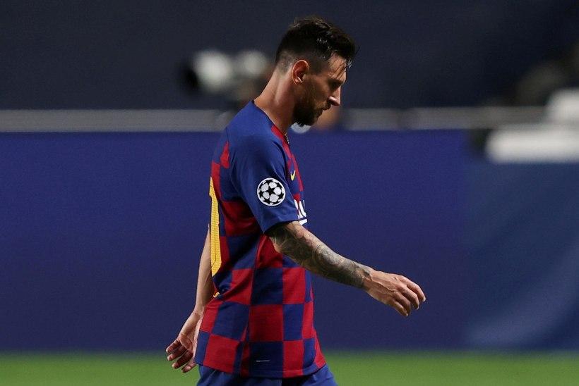 Messi teatas Barcelonale, et ta soovib klubist lahkuda