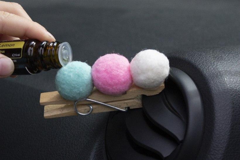 Omamoodi lõhnakuused: isetehtud autolõhnastajaid igale maitsele