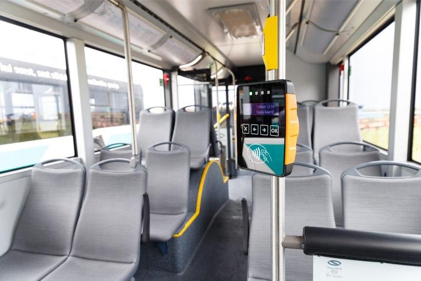 GALERII   ÕHUS ON PINGET! Tallinn saab 100 uut bussi, aga plaanib juba neid välja vahetada