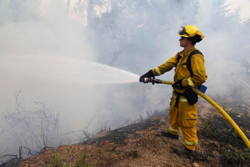 ALATU AARDEJAHT: põlengutega võitlev tuletõrjuja varastati paljaks