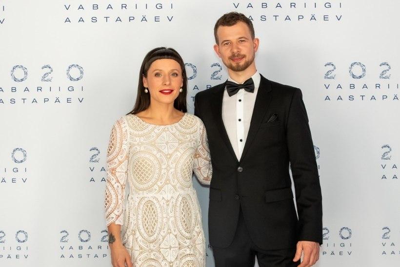 Hurraa! Sandra ja Jalmar Vabarna tähistavad neljandat pulma-aastapäeva