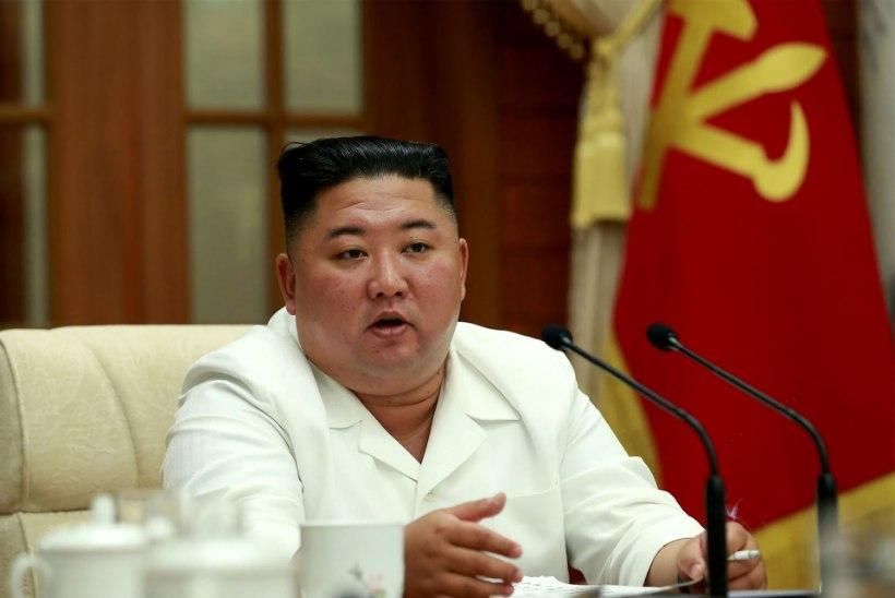 Kim Jong-un hoiatas ametnikke koroonaviirusega seotud puudujääkide ja peagi saabuva taifuuni eest