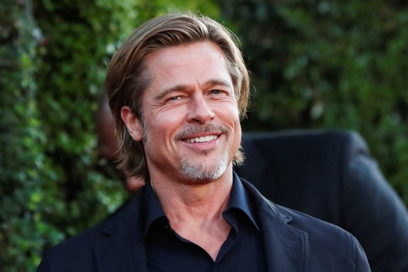 PALJASTUS: Brad Pitt semmib endast 30 aastat noorema modelliga