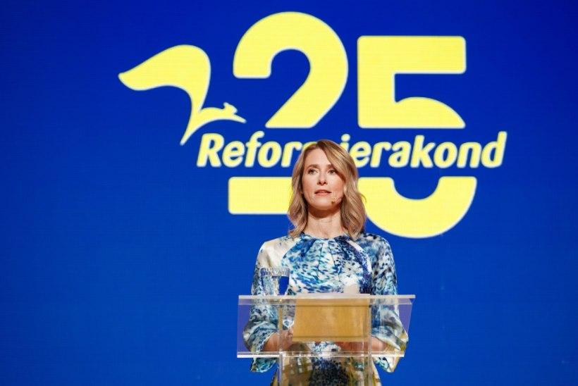 REITINGUD: suure languse teinud Reformierakond jääb Keskerakonnale alla