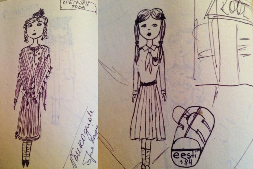 GALERII | Eesti kuulsuste lapsepõlvejoonistused! Sissi Nylia Benita: joonistasin kõik poetšekid pisikesi jänkusid täis