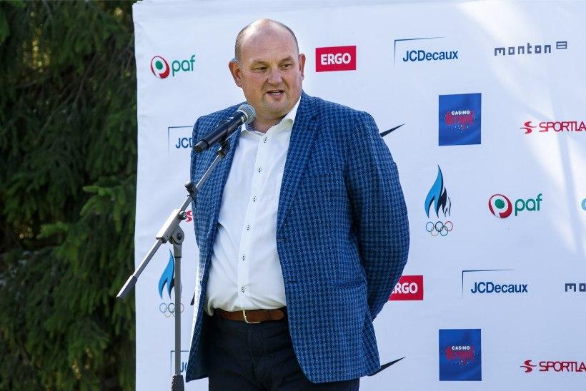 GALERII | EOK tähistas Eesti esimese olümpiavõidu 100. aastapäeva, juubeli puhul anti välja hõbemark