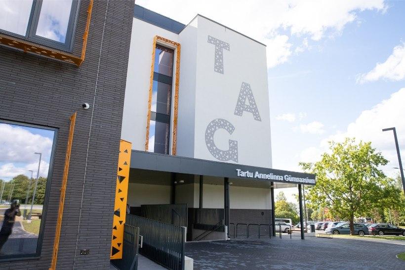 FOTOD | Just nagu uus: Tartu linna suurim kool alustab õppeaastat täielikult ümberehitatud majas